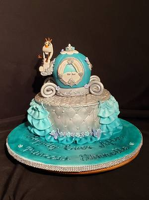 Princess Carriage Cake - Cake by Creative Designs By Cass