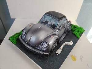 Volkswagen Kafer - Cake by Tanya Shengarova