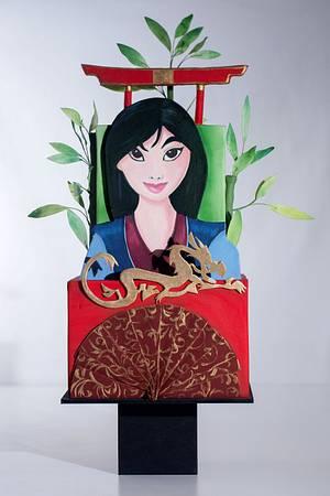 Mulan Cake - Cake by Natalia Casaballe
