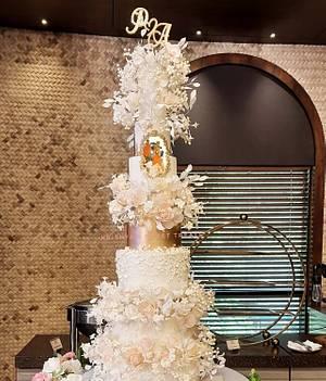 Towering beauty - Cake by Krishya's Sweet Treats