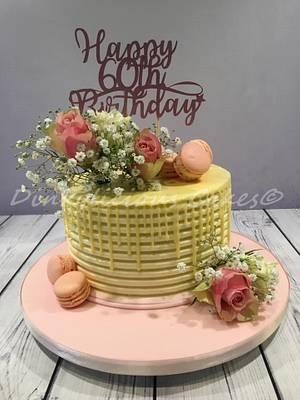 Buttercream cake - Cake by Dinkylicious Cakes