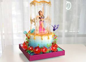dance cake - Cake by OxanaS