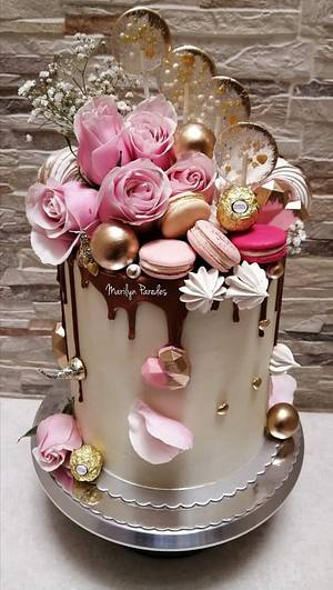 Pinkcake - Cake by Marilyn Paredes