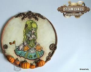 Steam Cakes Steampunk collab - Steampunk Cinderella! - Cake by Sweet Dreams by Heba