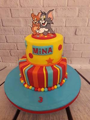 Tom and Jerry cake - Cake by Noha Sami