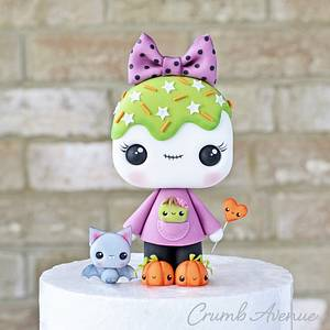 Trick or Treat - Cake by Crumb Avenue