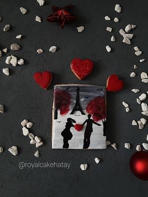 Valentine's day cookie  - Cake by Royalcake