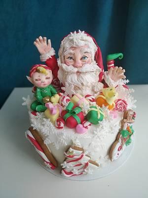 Happy New Year - Cake by Tanya Shengarova