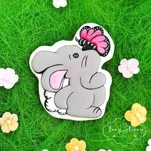 Spring Bunny - Cake by Inny Tinny