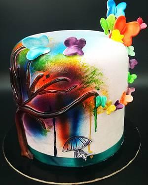 Esplosione di colori - Cake by Dolce zucchero