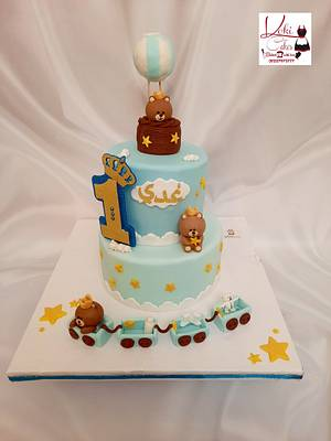 """Teddy Bear cake"" - Cake by Noha Sami"