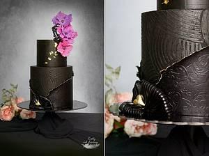 Black elegance - Cake by Lorna
