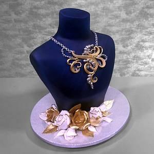 Necklace Cake - Cake by Serdar Yener | Yeners Way - Cake Art Tutorials