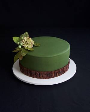 Rustic Birthday Cake - Cake by Carol Pato