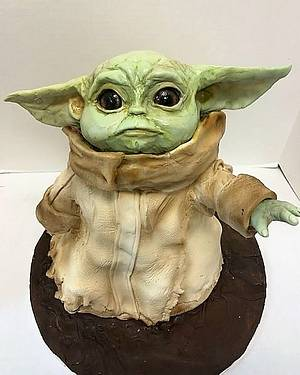 The Child Cake from The Mandalorian - Cake by tvbhouston