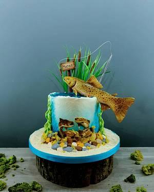 Fishy business  - Cake by Radoslava Kirilova (Radiki's Cakes)
