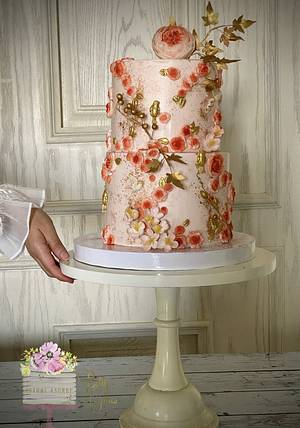 Wedding cake  - Cake by BettyCakesEbthal