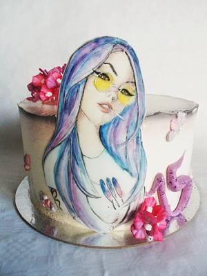 Birthday cake - Cake by Veronika