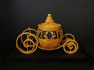 Cinderella's carriage - Cake by Cake Lab