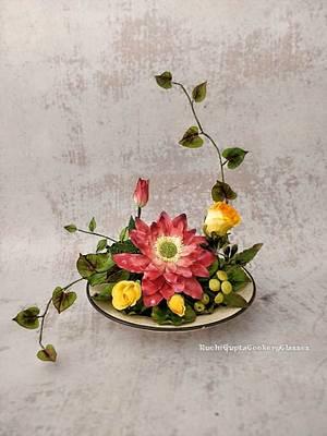 Lotus - Cake by Ruchi Gupta Cookery Classes