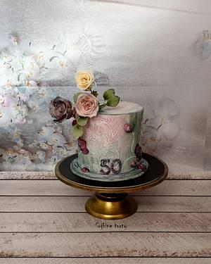 Birthday rose cake - Cake by SojkineTorty