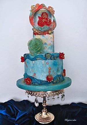 Isomalt cake - Cake by Zuzana Bezakova