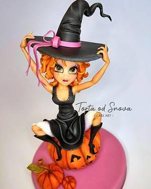 Halloween Witch cake topper - Cake by Torta Od Snova