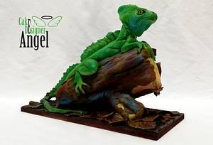 Basilisco Común  - Cake by Angel Torres