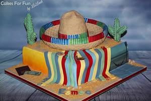 sombrero _ mexico cake - Cake by Cakes for Fun_by LaLuub