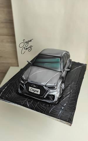 Audi  - Cake by Tanya Shengarova