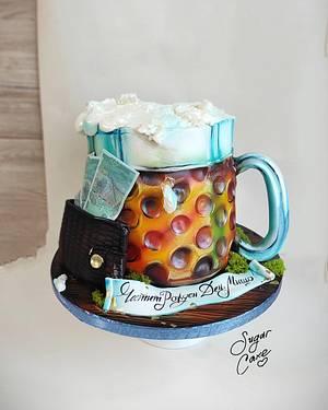 Pint of beer - Cake by Tanya Shengarova