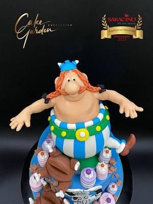 Obelix cake  - Cake by Cake Garden