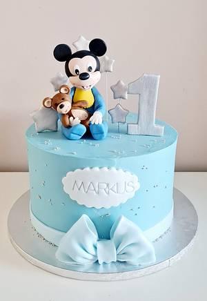 Mickey - Cake by Adriana12