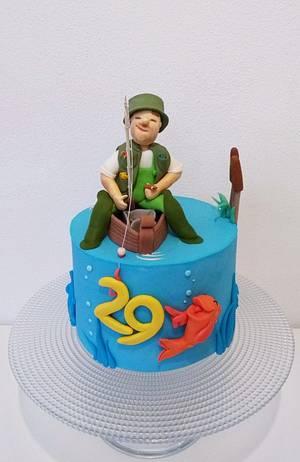 Fisherman cake - Cake by Clara