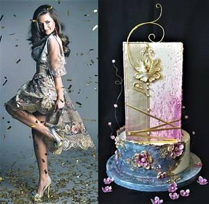 new year wedding cake :) - Cake by Torty Zeiko