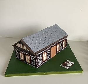 Cottage No2 - Cake by Anka