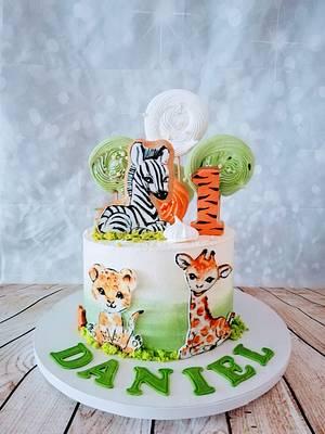 Safari - Cake by alenascakes