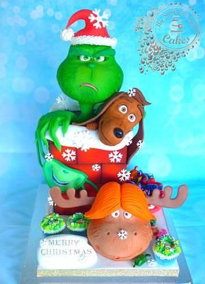 Grinch for Christmas  - Cake by Beata Khoo