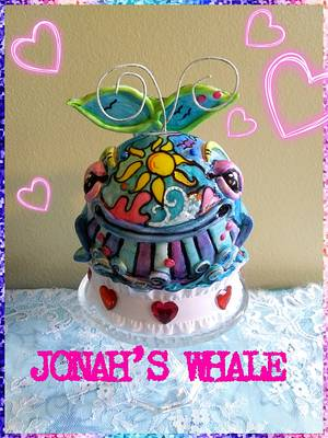Jonah and the Whale  - Cake by Bethann Dubey
