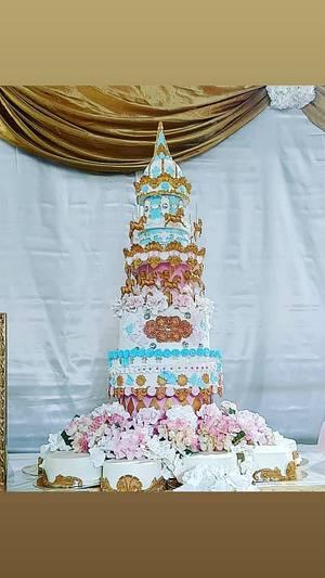 Baptême - Cake by elisabethcake