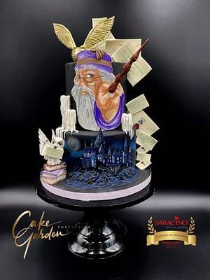 Harry Potter cake, hogwarts letters - Cake by Cake Garden