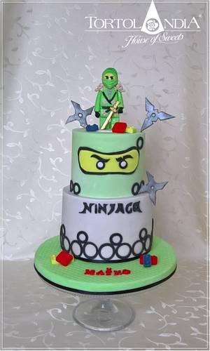 Lego ninjago & green - Cake by Tortolandia
