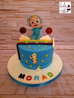 """Cocomelon cake"" - Cake by Noha Sami"