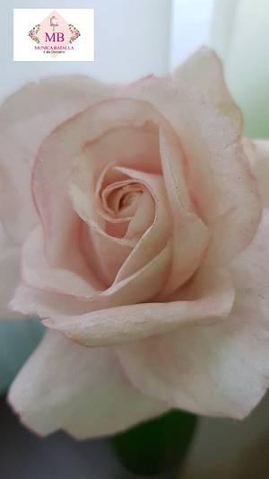 Wafer Rose - Cake by Monica Lilian Batalla