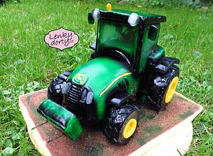 Tractor cake gravity - Cake by Lenkydorty