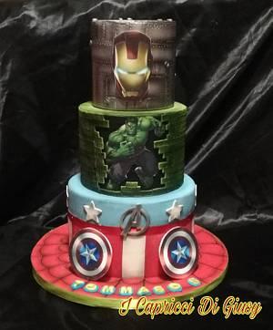 Avengers  - Cake by Maria principessa