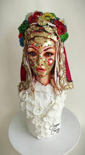 Tribal Culture Around the World Collaboration - Cake by Tanya Shengarova