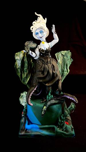 Ursula- Fairytales of Old Figurines Category- Cake Champions - Cake by Cristina Arévalo- The Art Cake Experience