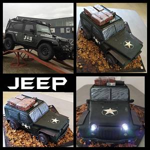 3D Jeep Cake - Cake by LaniesCakery