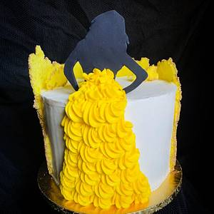 Pretty young thang - Cake by Jessica Bell
